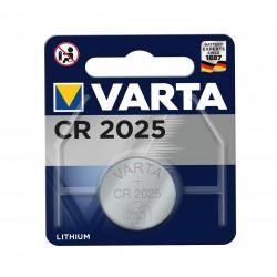 Батарейка Varta CR 2025 LITHIUM блістер 1шт 0647