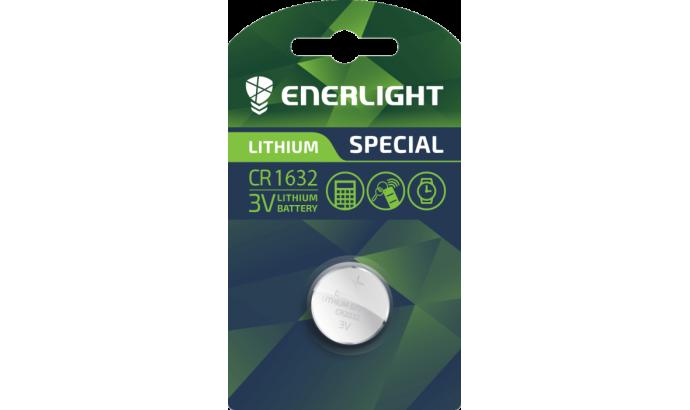 Батарейка Enerligh LITHIUM CR1632 блістер 1шт 2475