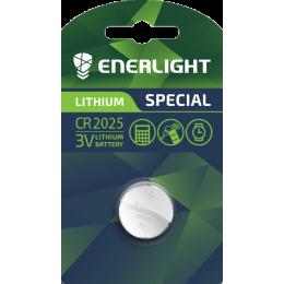 Батарейка Enerligh LITHIUM CR2025 планшет 1шт 2536