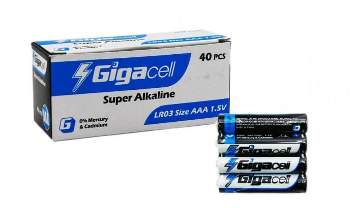 Батарейка лужна AAA RL3 Gigacell - 40 шт