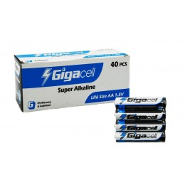 Батарейка щелочная AA RL6 Gigacell - 40 шт