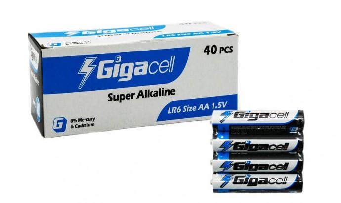 Батарейка лужна AA RL6 Gigacell - 40 шт