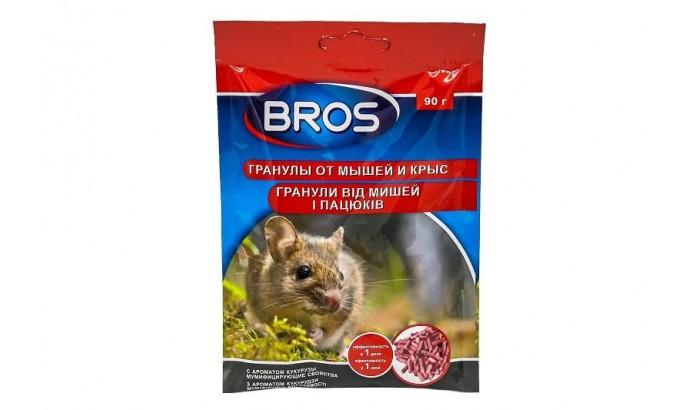 Отрута для мишей БРОС гранули 90 гр