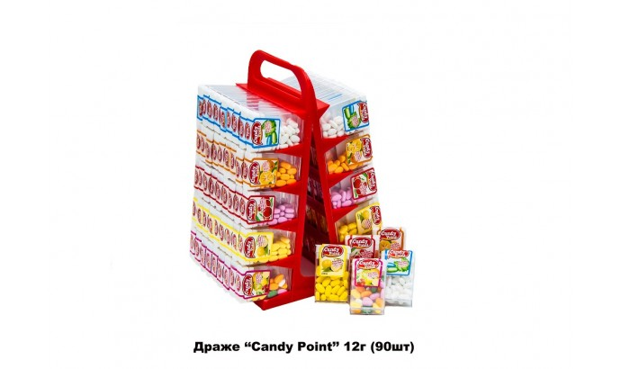 Драже «CANDY POINT» 90 шт.