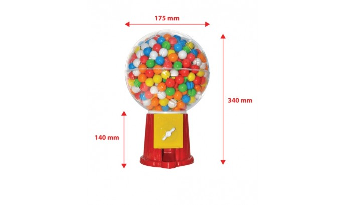 Жуйка Air Ball «MISKET» GUM MASHINE - 720 шт