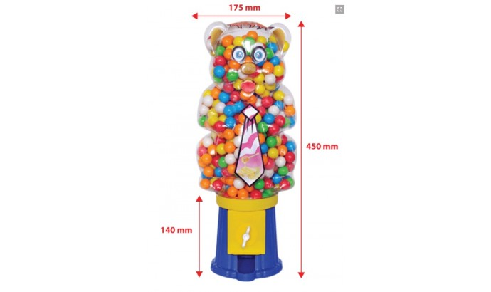 Жуйка Air Ball «MISKET» GUM MASHINE Панда - 720 шт