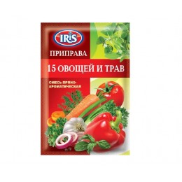 Приправа 15 овочів і трав «Ямуна» - 50г