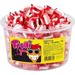 Желейні цукерки «Trolli» Зуби Дракули - 150 шт