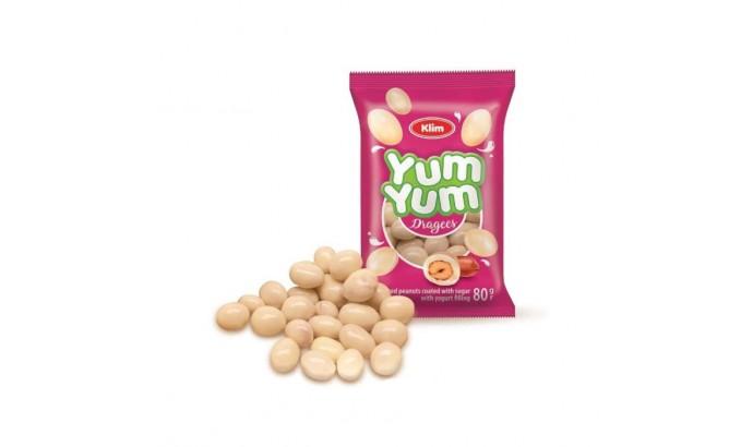 Драже Арахіс в йогурті YUM-YUM 80гр КЛИМ 248