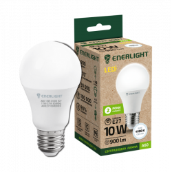 Лампа світодіодна Enerlight А60 Е27 10Вт 4100К