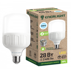 Лампа світодіодна Enerlight HPL Е27 28Вт 6500К