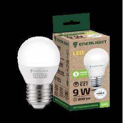 Лампа світодіодна Enerlight G45 Е27 9Вт 4100К