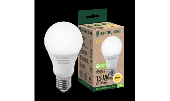 Лампа світодіодна Enerlight А65 Е27 15Вт 3000К