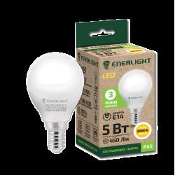 Лампа світодіодна Enerlight Р45 Е14 5Вт 450Лм 3000К (тепле світло)