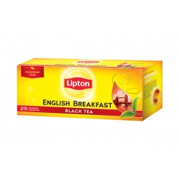 Чай чорний «Lipton» English Breakfast - 25 шт