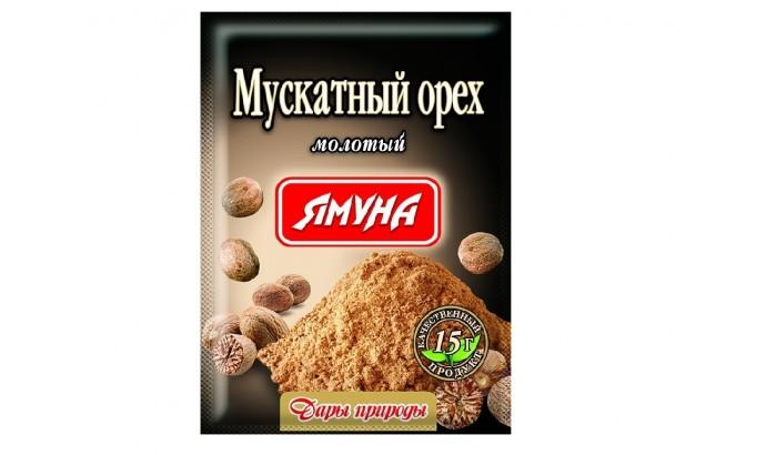 Мускатний горіх мелений «Ямуна» - 15г