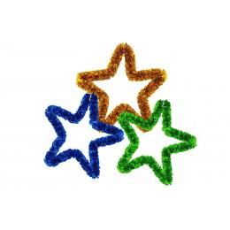 Мишура пушистая «Звезда» 100 мм
