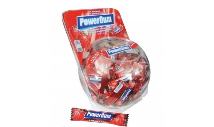 Жуйка «Power GUM» полуниця 300 шт