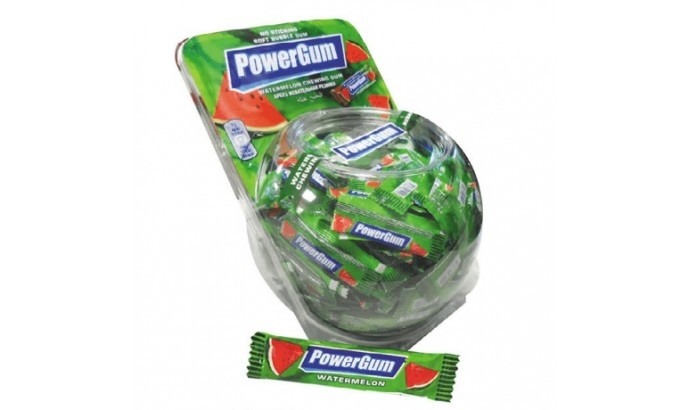 Жуйка «Power GUM» кавун 300 шт
