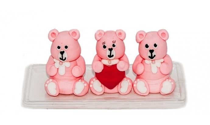 Набір прикрас «Три ведмеді»