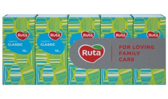 Носові хустинки Ruta Classic без аромату - 1 шт