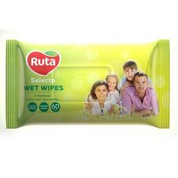 Вологі серветки Ruta Selecta для родини - 60шт