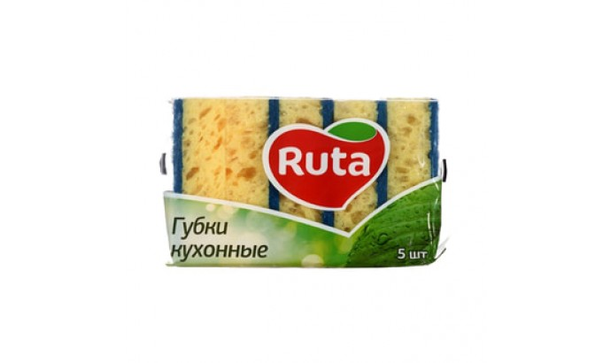 Губка кухонна Ruta - 5шт