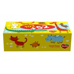Косметичні серветки Ruta Kids - 155 шт
