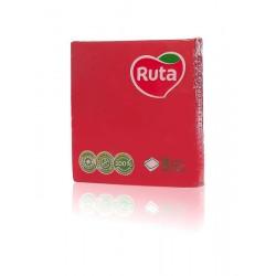Столові серветки Ruta 33х33 червоні - 20 шт