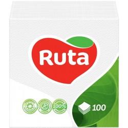 Столові серветки Ruta білі - 100 шт