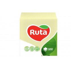 Столові серветки Ruta жовті - 100 шт