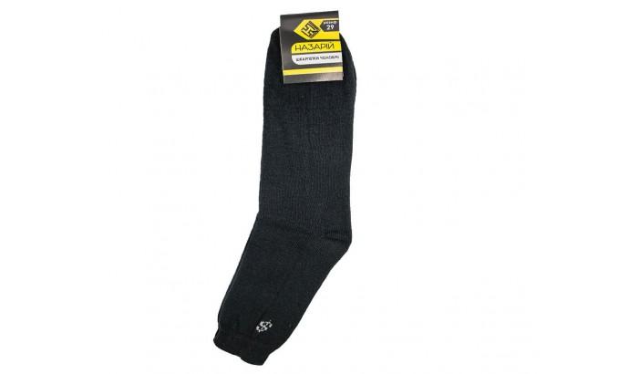 Шкарпетки чоловічі махрові чорні 29 10 пар