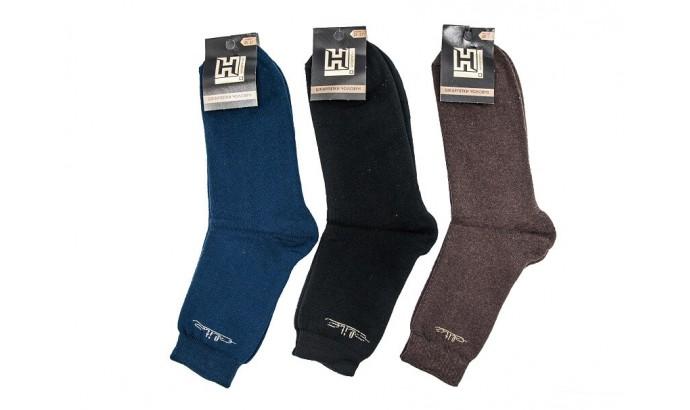Шкарпетки чоловічі стрейч ЗИМА асорті розмір 25-27 12 пар
