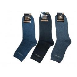 Шкарпетки чоловічі стрейч ЗИМА асорті розмір 27-29 12 пар