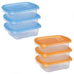 Набір контейнерів пластмасових 700 мл 82309 - 3 шт