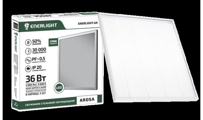 Світильник світод. стельовий Enerlight AROSA 36Вт 6500К