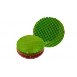 Вафельні коржі круглі кольорові 80 листів